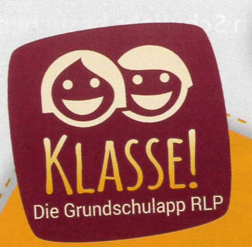 Logo Klasse! GrundschulApp RLP